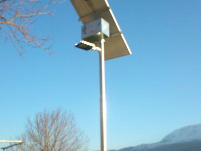Lampione Fotovoltaico ROMA